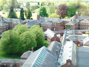 Whitchurch Hospital from the Tower