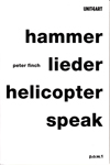 hammer lieder helicopter speak - Finch - cover