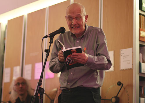 Peter Finch at the Poetry Library