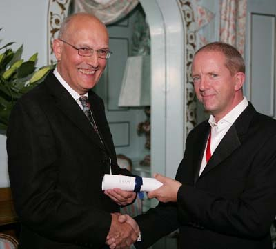 Peter Finch and Jonathan Adams at Portmeirion 2007